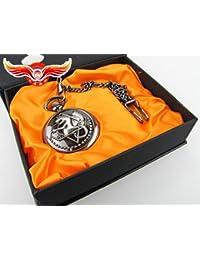 "Bluebird - reloj de bolsillo de ""Fullmetal Alchemist Brotherhood"" serie"