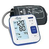 Blutdruck messgerät, Oberarm Blutdruckmessgeräte - Digitales Automatisches Meßgerät von Blutdruck und Herzfrequenz, Großes LCD-Display, 2x120 Speicherkapazität, FDA/CE zertifiziert.