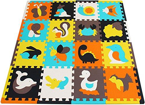 LittleTom T/ÜV Probado Alfombras Puzzle para Beb/és Suelo Goma EVA Colores Pastel