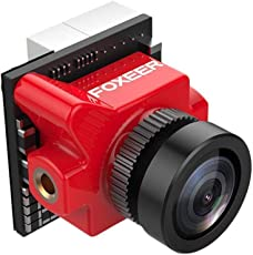 Foxeer Predator Micro V3 FPV Camera 1.8mm Lens 4:3/16:9 PAL/NTSC switchable Super WDR OSD 4ms Latency Red
