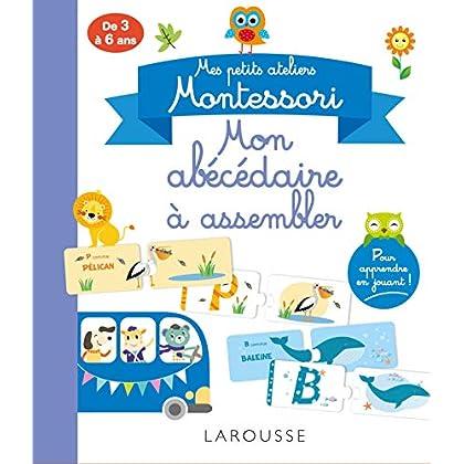 Mes petits ateliers Montessori - Mon abécédaire à assembler