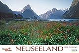Neuseeland - Kalender 2017 - mit Wandplaner - Korsch-Verlag - Panorama-Format - 58 x 39 cm