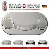 MAG-B magnetischer Brillenhalter Edelstahl poliert