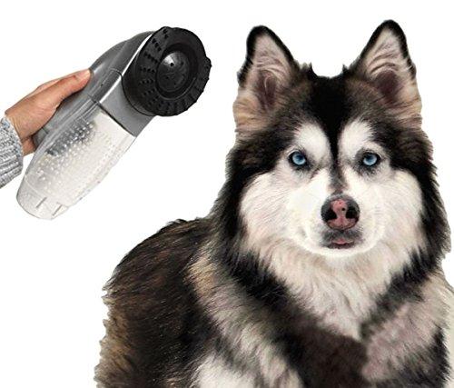 Massagegerät-Staubsauger Borsten kabellos für Hunde und Katzen