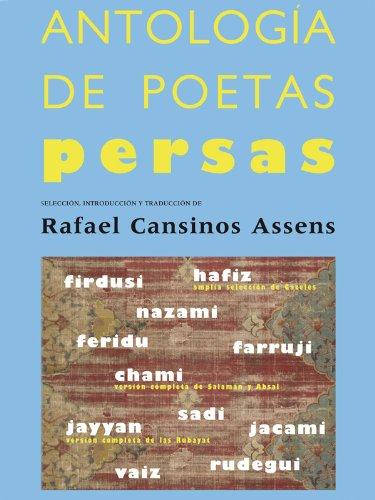 Descargar Libro Torrent Antología de poetas persas Epub O Mobi
