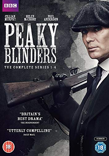 Peaky Blinders Series 1-4 [DVD]