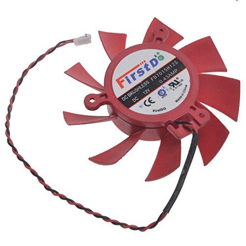 SUNKEE FD7015H12S 12V 0.43A Mac Pro ATi Radeon HD 5770 / 5850 Series Video Card Cooling Fan -