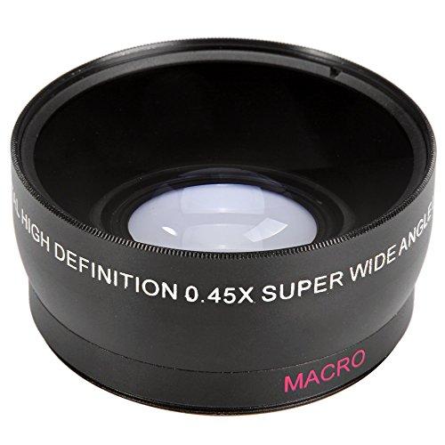 Tini Regner 58mm 0,45x Super Weitwinkel Makro-Objektiv für Canon EOS 500D Rebel T1i T2i