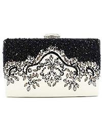 Luxus Abendtasche Handtasche Perlen Kristall Tasche Schultertasche Brauttasche Spezieller Sommer Sale Kleidung & Accessoires