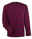Saint James Meridien - Streifenshirt - Bretagne-Shirts Marine/Tulipe (M)