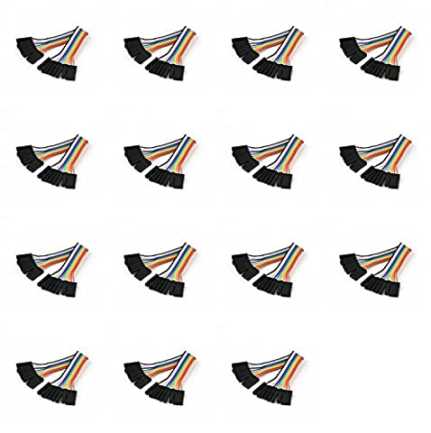 15 x Quantity of Walkera Runner 250 (R) Advanced GPS Quadcopter Drone (100mm) Super Clean RC Male to Male Ribbon Extensions Set(Servo Connector) - FAST FROM Orlando, Florida USA!