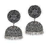 Jaipur Mart Handmade Oxidised Silver Jhu...