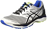 Asics Gel-Cumulus 18, Men's Running Shoes,Multicolor (White/Black/Electric Blue), 7 UK (41.5 EU)