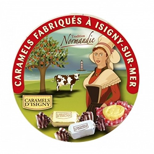 Caramel d'Isigny Tradition - boite en bois de 75g