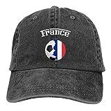 B-shop France Flag Soccer Football Fan Jersey Denim Cotton