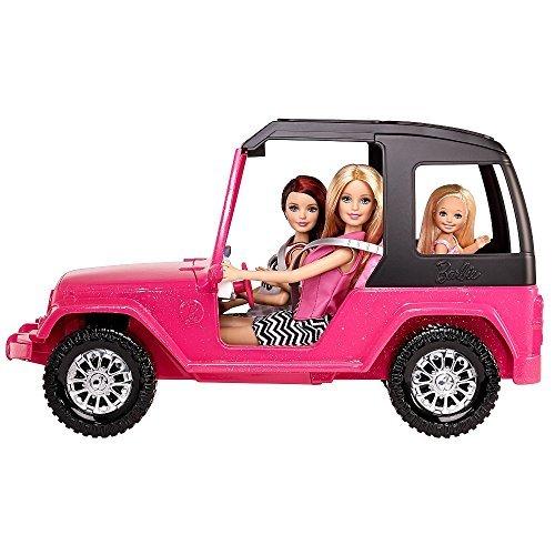 Barbie Schwestern Jeep