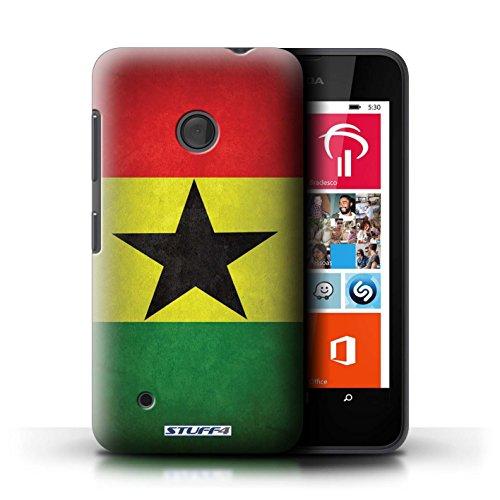 Kobalt® Imprimé Etui / Coque pour Nokia Lumia 530 / Suède/suèdois conception / Série Drapeau Ghana