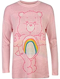 Iron Fist Cheer Bear Slouch Sweater XS