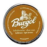 Burgol Palmenwachs-Schuhcreme, 100 ml, hellbraun