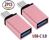 Lucklystar® Adaptador USB C A USB 3.0 Conector usb c Tipo C (Type C) Macho a USB 3.0 Hembra ...