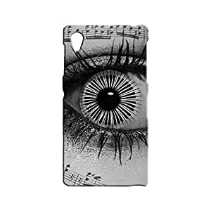BLUEDIO Designer 3D Printed Back case cover for Sony Xperia Z1 - G5794