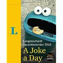 Langenscheidt Sprachkalender 2018 A Joke a Day - Abreißkalender