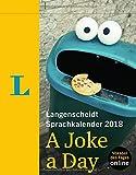 Langenscheidt Sprachkalender 2018 A Joke a Day - Abreißkalender -