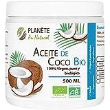Aceite de Coco Orgánico - Primera presión en frío. - 500ml