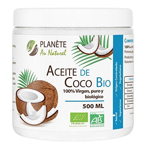Aceite Coco Virgen Orgánico - PRENSADO EN FRIO -