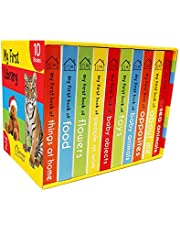 My First Library PACK 2 of 10 Board Books