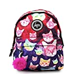 Hype Backpack Bag - Cosmo Cat Pom Pom Rucksack - Bags & Backpacks For Boys and Girls Women and Men - Cosmo Cat Pom Pom - casual-daypacks