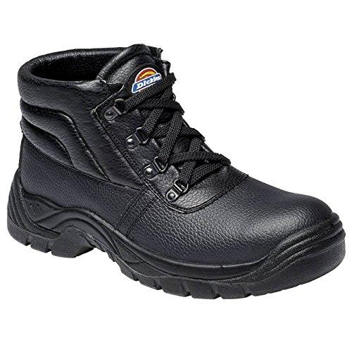 Dickies Redland Super Safety Chukka Boot- - Black - UK 11 / US 12 / EU 46 Black Super Street Boot