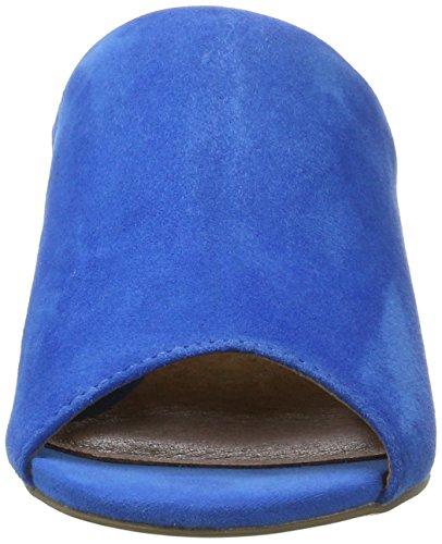 Bianco Damen Suede Mule Sandal 20-49221 Blau (Blue)