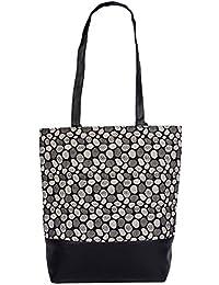 Womaniya Women's Handbag, (Material- Canvas, PU) (Color- Multi color)