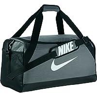Nike Nk Brsla M Duff Bolsa de Deporte, Hombre, Gris (Flint Grey/Black/White), Talla Única