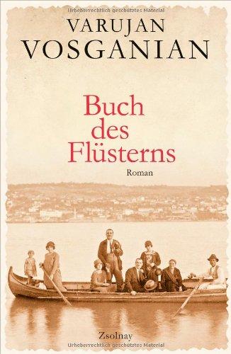 Buchseite und Rezensionen zu 'Buch des Flüsterns' von Varujan Vosganian