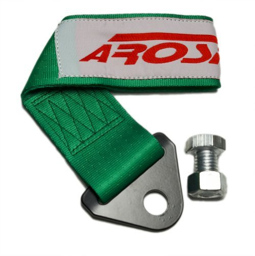 arospeed-green-tow-strap-kit-high-tensile-strength-heavy-duty-steel-and-polyester-10000-lb-pound-rat