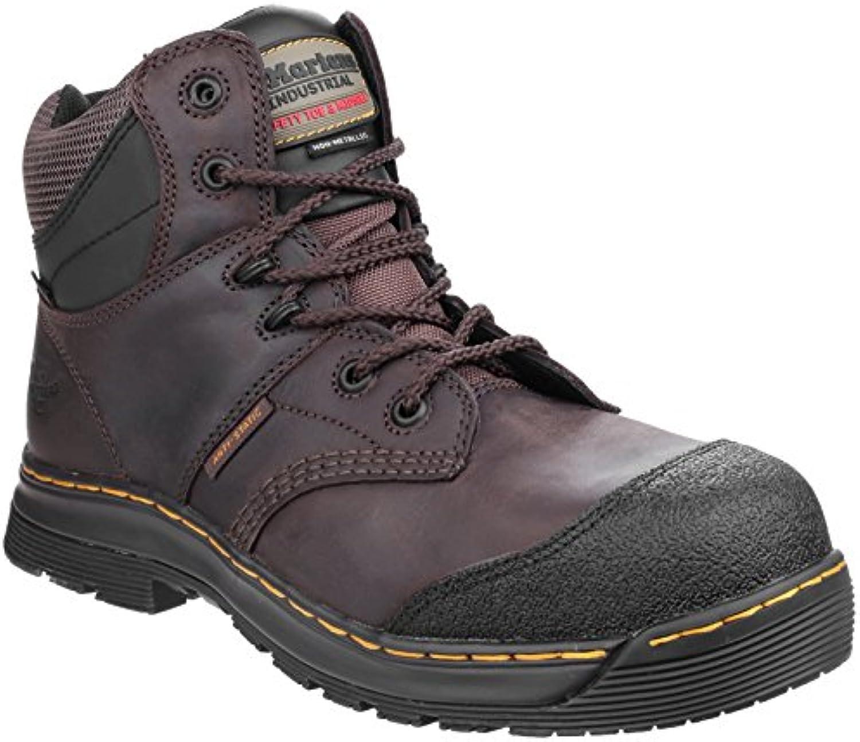 Dr Martens Mens Surge ST 6 tie Gaucho Water Resistant Volcano Boots