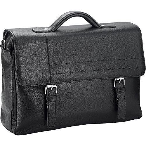 d & n Business Line Aktentasche III Leder 40 cm black