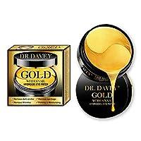 24K Gold With Snail Eye Treatment Masks-Under Eye Patches, Dark Circles Under Eye Treatment,Under Eye Bags Treatment