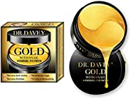 24K Gold With Snail Eye Treatment Masks-Under Eye Patches, Dark Circles Under Eye Treatment,Under Eye Bags Tre