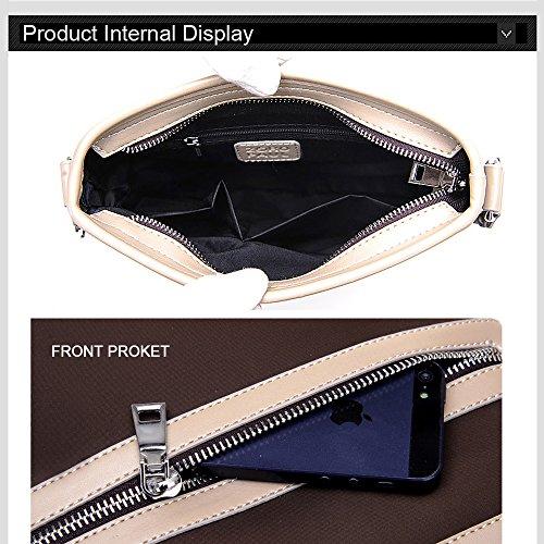 Ranbow Oxford Gewebe-Schulter-Beutel-Geschäfts-Freizeit-Clutch-Beutel-Segeltuch Ipad Handtaschen-Universitäts-tägliche Gebrauch Executiv-Lawer-Kasten Blau