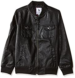 US Polo Assn. Boys Jacket (UKJK5244_Black_24TFS)