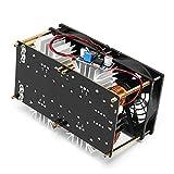 1800W 40A ZVS Induktionserwärmung PCB Board Modul Flyback Driver Heater Gute Wärmeableitung Super Heat Sink - Schwarz