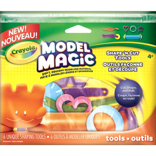 Crayola Model Magic-Set mit Modellierwerkzeug für Modelliermasse