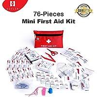 Mini-Erste-Hilfe-Kit, 76 Stück Mini Kleine Erste-Hilfe-Kit enthält Notfall Folie Decke, CPR Gesichtsmaske, Sicherheitspfeife... preisvergleich bei billige-tabletten.eu
