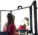 Specchio Make Up PIEGHEVOLE Specchietti Trucco postazione luci estetica make-up