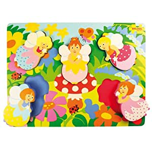 Bigjigs Toys Chunky Lift Out Fairy Puzzle