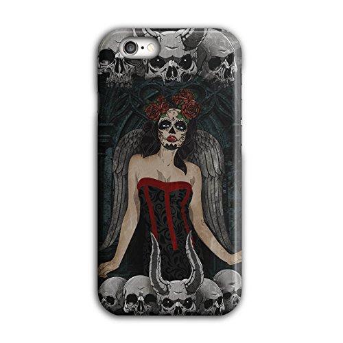 Schädel Böse Mädchen Horror Dämon Böse iPhone 6 / 6S Hülle | (Übernatürliche Dämon Kostüm)