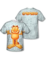 Garfield - - Free Hugs (Front / Back Imprimer) T-shirt homme